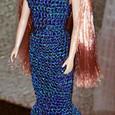 マーメイドラインのロングドレス