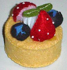 フルーツケーキのマグネット