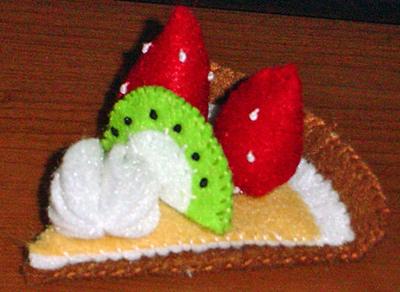 フルーツタルトのマグネット