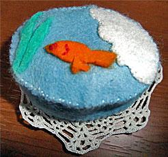 フェイク和菓子 「金魚」