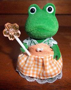 カエルの女の子
